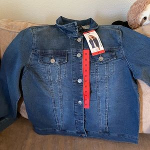 Denim Knit Jacket